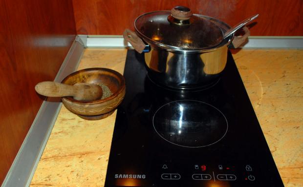 Крем супа с топчета