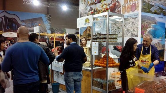 Фурор на биопродуктите на изложението Вкусове от Италия 2018 в Пловдив