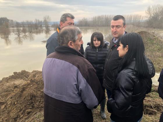 Мерки след бедствието при Иново и Брегово