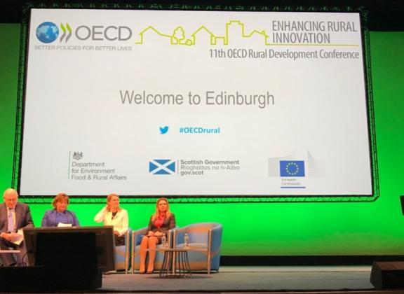 Лозана Василева представи България на форум за иновациите в Шотландия