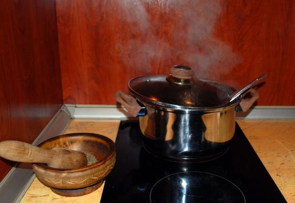 Телешка супа с боб