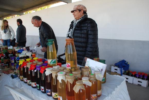 Фермерски продукти на изложението в Сливен