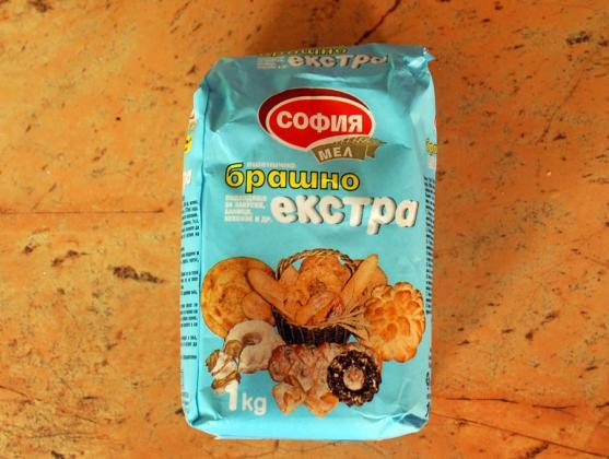 Средни цени на брашно в страната – на едро