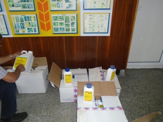 Съвместна акция на БАБХ и МВР разкри незаконна пратка пестициди от Турция