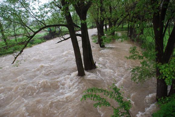 Обилни дъждове на 24 и 25 май, на места придружени с градушки