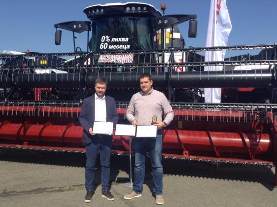 Българските фермери високо оценяват новите комбайни на Rostselmash