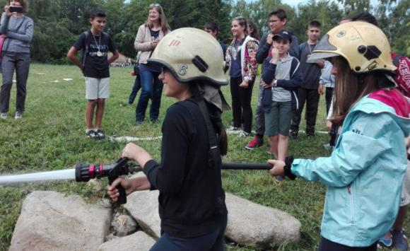 Горски служители учат децата как да пазят горите от пожари