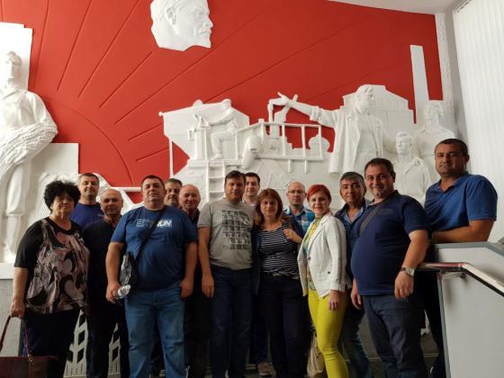 Фермери посетиха заводите за комбайни на руския концерн Rostselmash