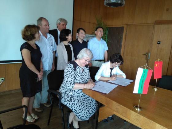 Българският институт по почвознание ще си сътрудничи с колеги от Китай