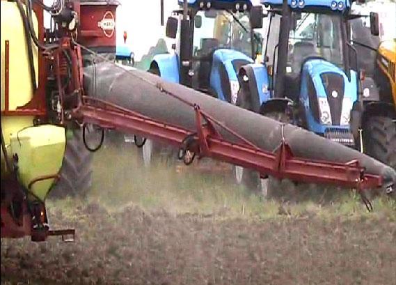 Най-големите количества конфискувани незаконни или фалшиви пестициди в операцията на Европол SILVER AXE