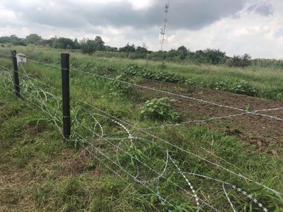 Изградени са 81 км от общо 133-километровата ограда по границата с Румъния