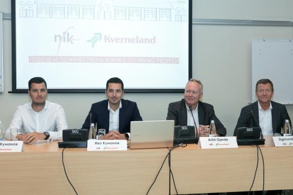 Българската компания НИК става дилър на водещия норвежки производител на селскостопанска техника Kverneland