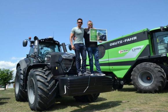 Тежката машина е безопасна и ускорява работата на фермерите