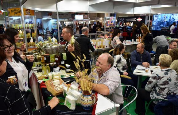 Точно 23 560 са посетили изложенията за храни в началото на ноември