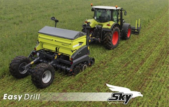 Сеялките Sky Agriculture превземат пазара във Франция