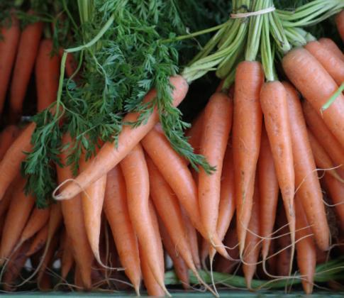 Морковчета с люти чушлета
