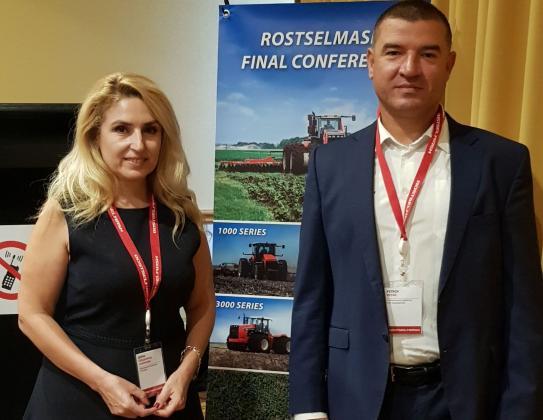 Оптиком получи отличие за най-добър дилър в Европа на комбайни Rostselmash