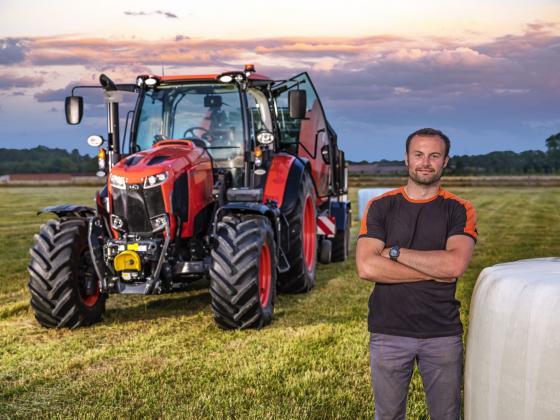 Кубота пуска на пазара чисто нова серия трактори M6002