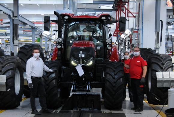 Австрийски завод на Case IH получи престижна награда за ефективност