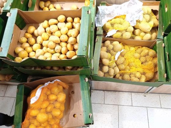 Агенцията по храните не открила вносни картофи, представени на пазара като български