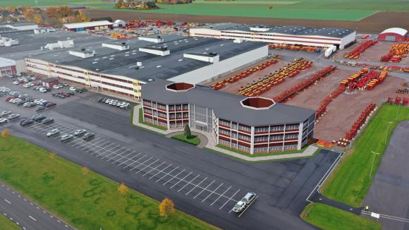 Vаderstad расте – нов заводски център ще бъде готов през 2022