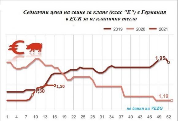 Европейските пазари на свине за клане са в застой