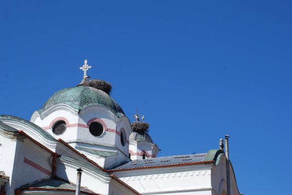 На Велики понеделник Христос гони търговците от храма