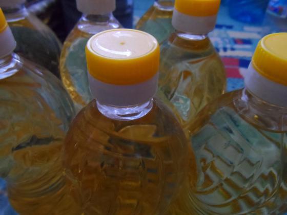 Украйна е свила износа на олио с почти една трета за полугодието