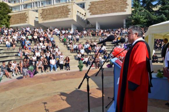 Близо 2000 първокурсници прекрачиха прага на Тракийски университет – Стара Загора